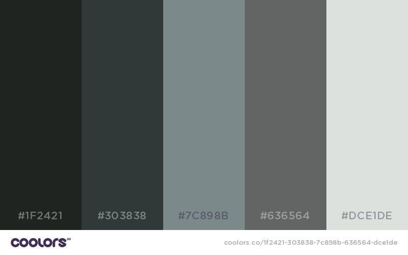 Grim Reaper Color Palette