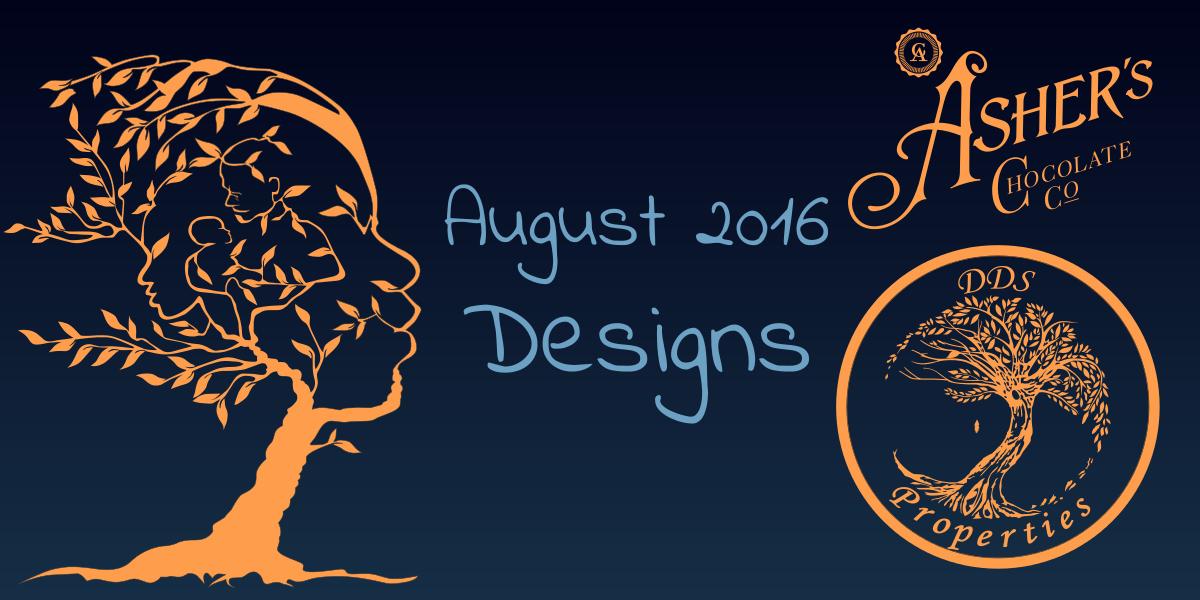 August 2016 Designs